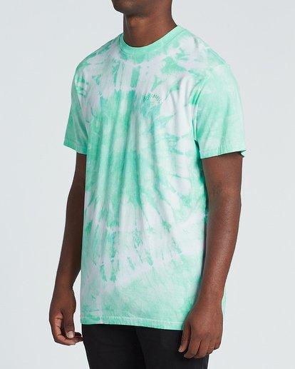 1 Essential Short Sleeve T-Shirt Green M4251BES Billabong