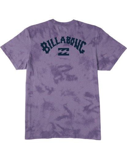 4 Arch Wave Tie Dye T-Shirt Purple M4253BAT Billabong