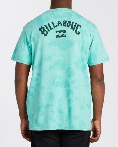 2 Arch Wave Tie Dye T-Shirt Black M4253BAT Billabong