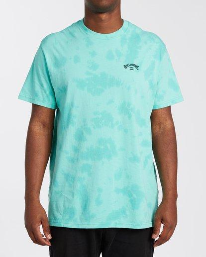 0 Arch Wave Tie Dye T-Shirt Black M4253BAT Billabong