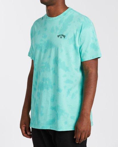 1 Arch Wave Tie Dye T-Shirt Black M4253BAT Billabong