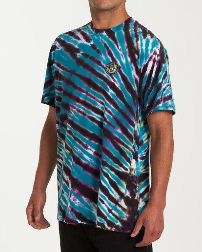 1 Yang Tie-Dye Short Sleeve T-Shirt White M425WBYT Billabong