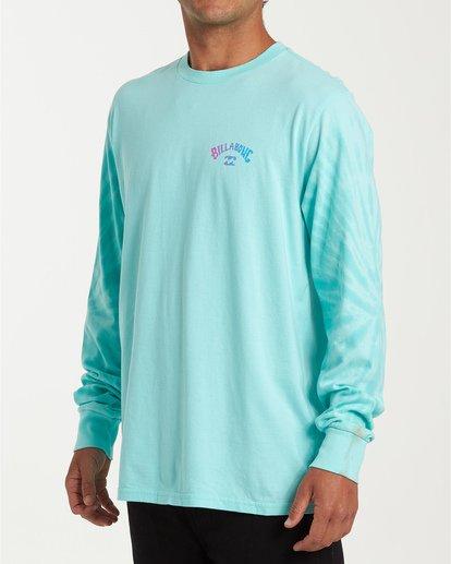 1 Arch Tie-Dye Long Sleeve T-Shirt Blue M426WBAT Billabong