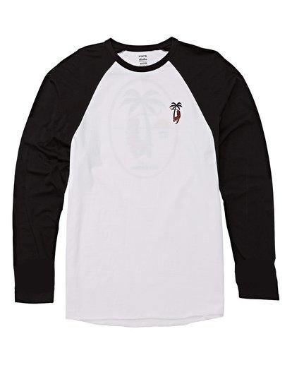 3 Tiger Palm T-Shirt White M427WBTP Billabong