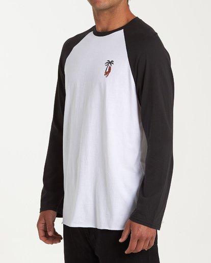 1 Tiger Palm T-Shirt White M427WBTP Billabong