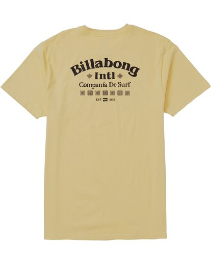 1 Compania Tee Shirt Beige M431SBCO Billabong