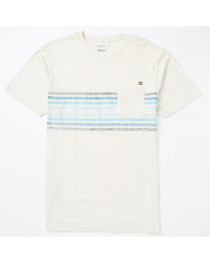 1 Spinner Pocket T-Shirt White M431SBST Billabong