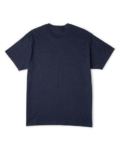 3 Stacked Essential Pocket Short Sleeve T-Shirt Blue M431WBSE Billabong
