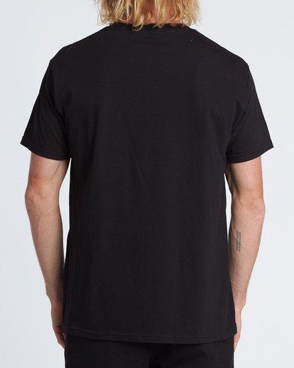 2 Stacked Essential Pocket Short Sleeve T-Shirt Black M431WBSE Billabong