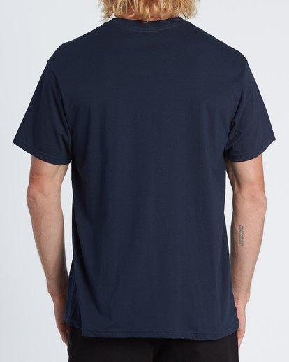 2 Stacked Essential Pocket Short Sleeve T-Shirt Blue M431WBSE Billabong