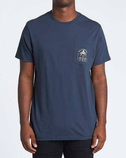0 Schooner Short Sleeve T-Shirt Blue M4331BCH Billabong