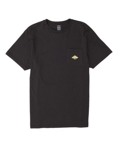 3 High Noon Short Sleeve T-Shirt Black M4331BHN Billabong