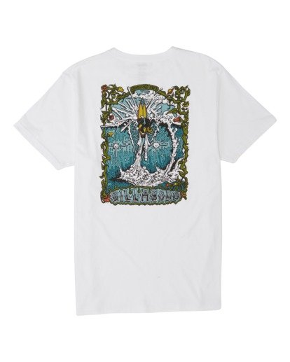 1 High Noon Short Sleeve T-Shirt White M4331BHN Billabong