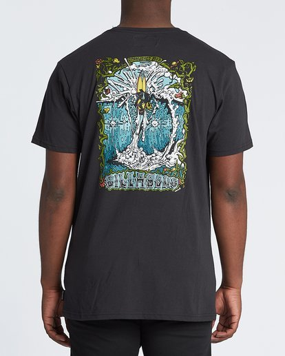 0 High Noon Short Sleeve T-Shirt Black M4331BHN Billabong