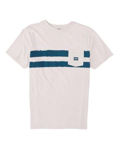 3 Riot Short Sleeve T-Shirt Purple M4331BRI Billabong