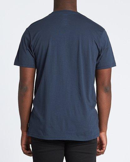 2 Riot Short Sleeve T-Shirt Blue M4331BRI Billabong