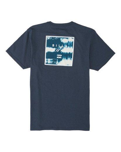 4 Stacked Fill Short Sleeve T-Shirt Blue M4331BSF Billabong
