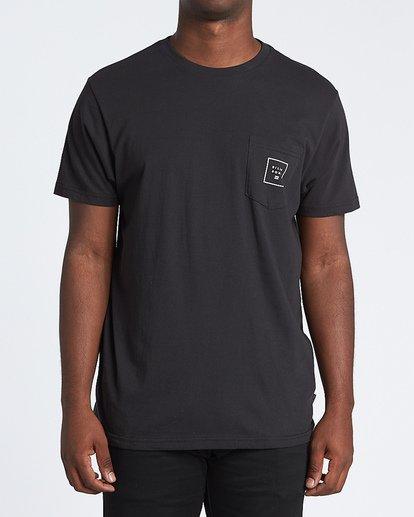 0 Stacked Fill Short Sleeve T-Shirt  M4331BSF Billabong