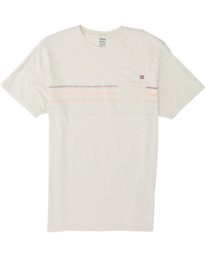 3 Spinner Short Sleeve T-Shirt White M4331BSP Billabong