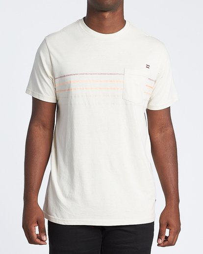 0 Spinner Short Sleeve T-Shirt Brown M4331BSP Billabong