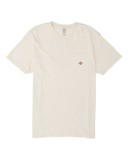 3 Stamp Short Sleeve T-Shirt Brown M4331BST Billabong