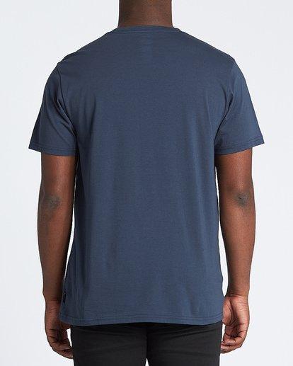 2 Team Pocket Mini Short Sleeve T-Shirt Blue M4331BTM Billabong