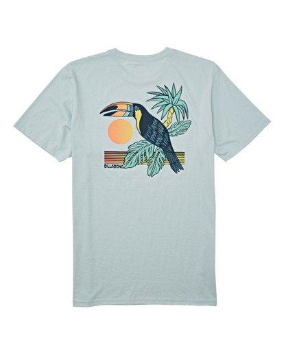 4 Dominical Pocket Short Sleeve T-Shirt Blue M4332BDO Billabong