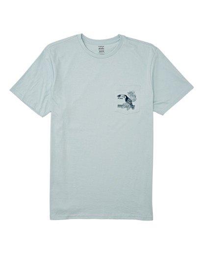 3 Dominical Pocket Short Sleeve T-Shirt Blue M4332BDO Billabong