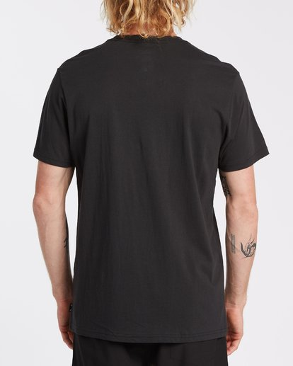 2 Spinner Pocket Short Sleeve T-Shirt Black M4332BSP Billabong