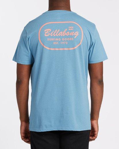 2 Surfing Goods Short Sleeve Pocket T-Shirt Grey M4332BSU Billabong