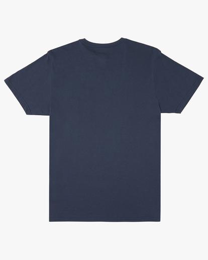 8 Team Pocket Short Sleeve T-Shirt Blue M4332BTP Billabong