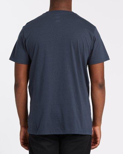 2 Team Pocket Short Sleeve T-Shirt Blue M4332BTP Billabong