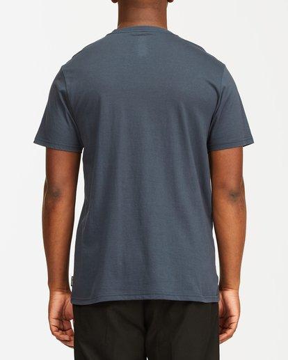 5 Team Pocket Short Sleeve T-Shirt Blue M4332BTP Billabong