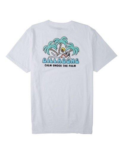 4 Calm T-Shirt White M4333BCA Billabong