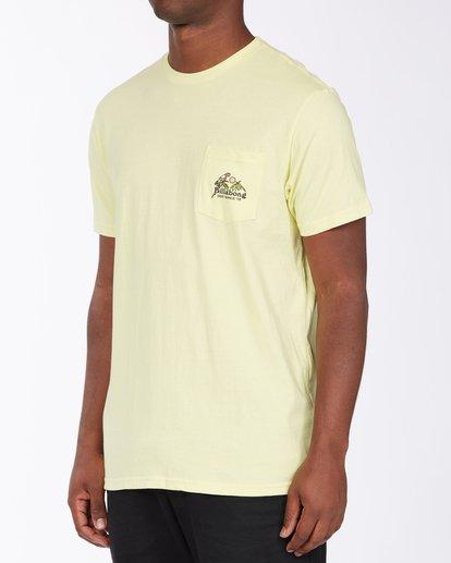 1 Calm T-Shirt Yellow M4333BCA Billabong