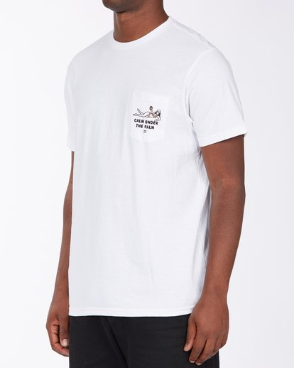 1 Calm T-Shirt White M4333BCA Billabong