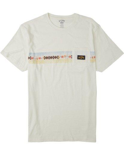 3 Spinner T-Shirt White M4333BSP Billabong