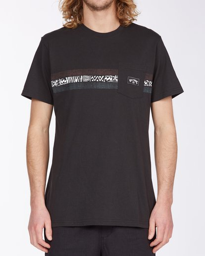 0 Spinner T-Shirt Black M4333BSP Billabong