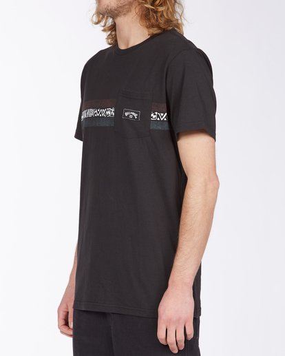1 Spinner T-Shirt Black M4333BSP Billabong