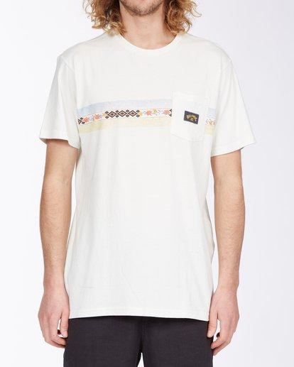 0 Spinner T-Shirt White M4333BSP Billabong