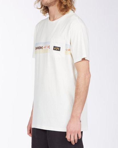 1 Spinner T-Shirt White M4333BSP Billabong