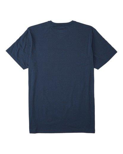 1 Team Pocket T-Shirt Blue M4333BTE Billabong