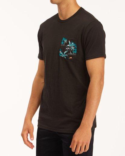 1 Team Pocket T-Shirt Black M4333BTE Billabong