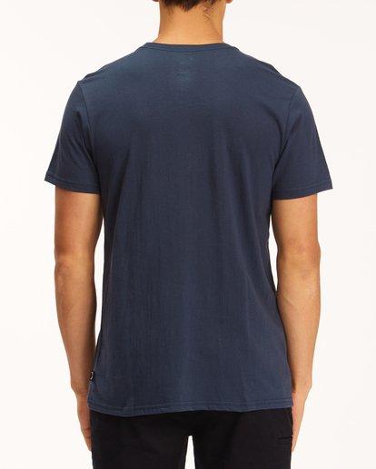2 Team Pocket T-Shirt Blue M4333BTE Billabong