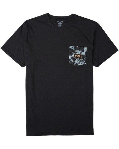 3 Team Pocket Mini T-Shirt Black M4333BTM Billabong
