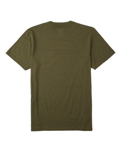 1 Team Pocket Mini T-Shirt Green M4333BTM Billabong