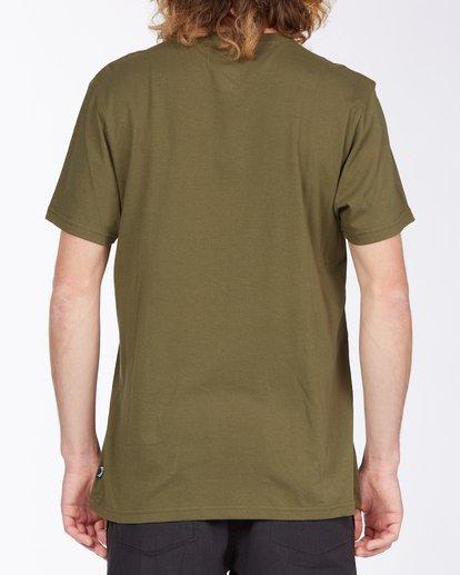2 Team Pocket Mini T-Shirt Green M4333BTM Billabong