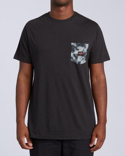 0 Team Pocket Mini T-Shirt Black M4333BTM Billabong