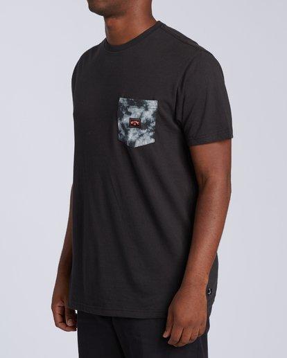 1 Team Pocket Mini T-Shirt Black M4333BTM Billabong