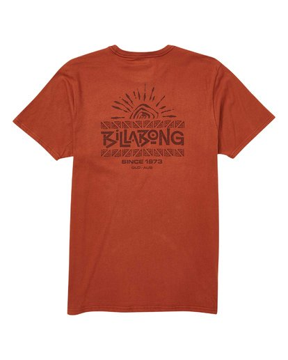 1 Sundaze T-Shirt Red M433TBSU Billabong